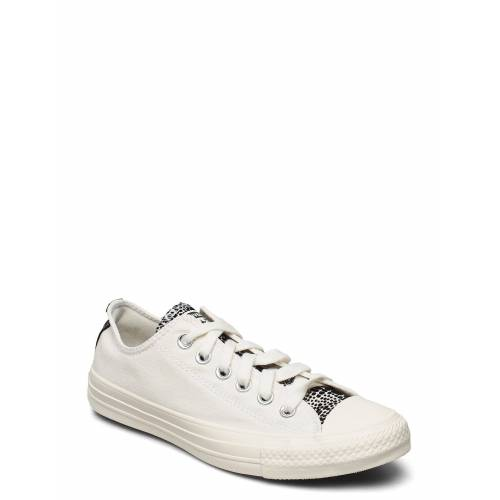 Converse Ctas Ox Egret/Black/Egret Niedrige Sneaker Creme CONVERSE Creme 39,38,37,37.5,40,39.5,36,36.5,41,42.5,41.5,42,35