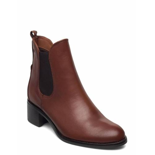 DASIA Dittany Shoes Boots Ankle Boots Ankle Boot - Heel Braun DASIA Braun 40,36