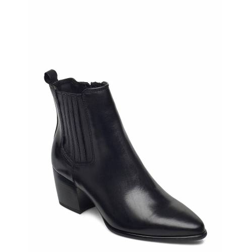 DASIA Cane Shoes Boots Ankle Boots Ankle Boot - Heel Schwarz DASIA Schwarz 40,36,37,39,38