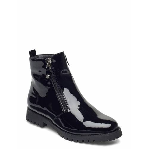 DASIA Carline Shoes Boots Ankle Boots Ankle Boot - Flat Schwarz DASIA Schwarz 39,40