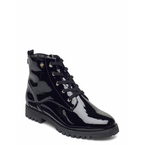 DASIA Carline Shoes Boots Ankle Boots Ankle Boot - Flat Schwarz DASIA Schwarz 38,40,39,41,36