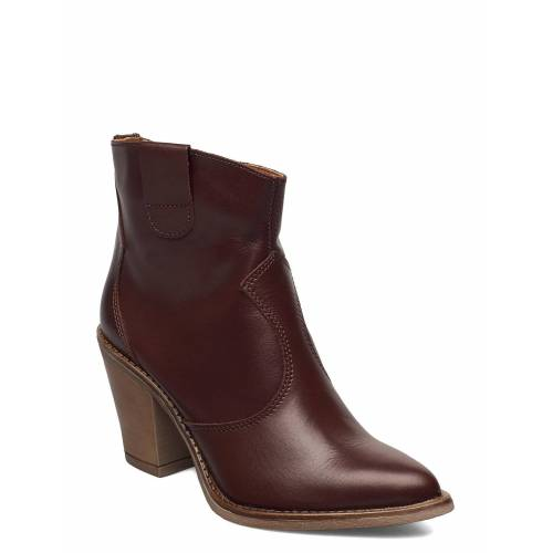 RE:DESIGNED EST 2003 Issa Shoes Boots Ankle Boots Ankle Boot - Heel Braun RE:DESIGNED EST 2003 Braun 41,36