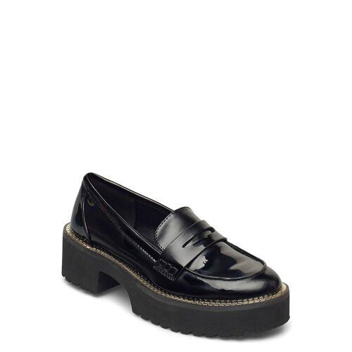 DKNY Alz - Loafer W/Lug Loafers Flache Schuhe Schwarz DKNY Schwarz 37,36