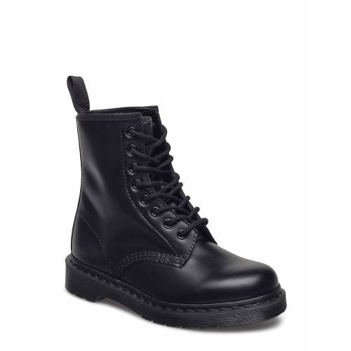 Dr. Martens 1460 Mono Black Smooth Shoes Boots Ankle Boots Ankle Boot - Flat Blau DR. MARTENS Blau 38,39,37,40,42,41,36,43,44,45