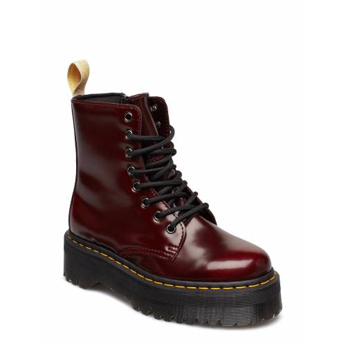 Dr. Martens V Jadon Ii Cherry Red Oxford Rub Off Shoes Boots Ankle Boots Ankle Boot - Flat Rot DR. MARTENS Rot 39,38,40
