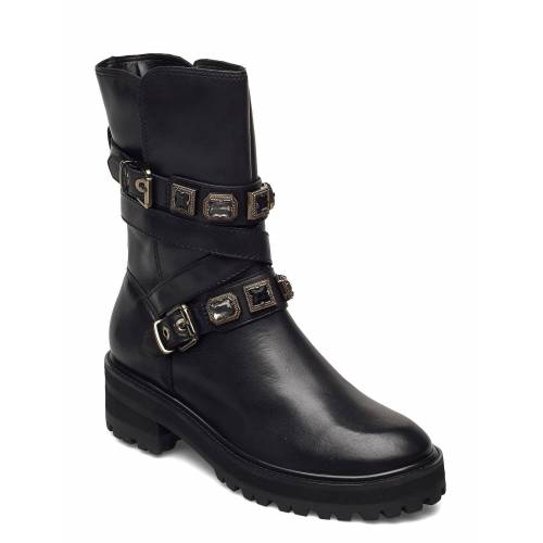 DUNE LONDON Reecie Shoes Boots Ankle Boots Ankle Boot - Flat Schwarz DUNE LONDON Schwarz 38,40,39,41