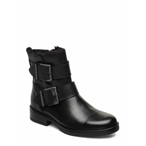 DUNE LONDON Qualify Shoes Boots Ankle Boots Ankle Boot - Flat Schwarz DUNE LONDON Schwarz 36