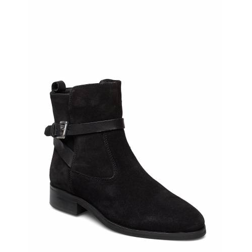 DUNE LONDON Patrizo Shoes Boots Ankle Boots Ankle Boot - Flat Schwarz DUNE LONDON Schwarz 36,41