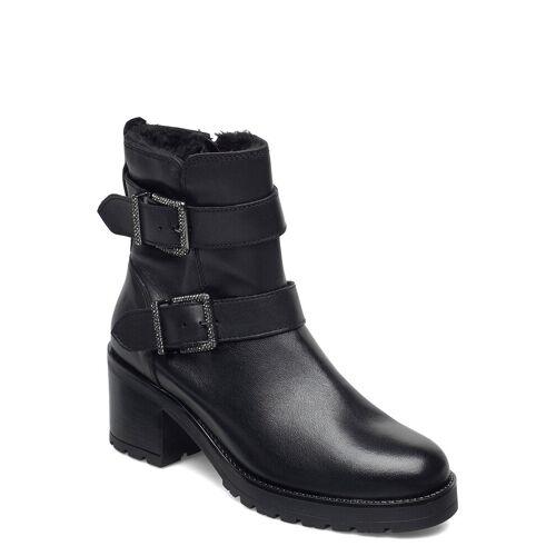 DUNE LONDON Portrait Shoes Boots Ankle Boots Ankle Boot - Heel Schwarz DUNE LONDON Schwarz 37,40,38,39