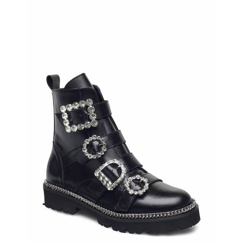DUNE LONDON Pagola Shoes Boots Ankle Boots Ankle Boot - Flat Schwarz DUNE LONDON Schwarz 39,38,40,36,41