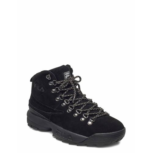 Fila Disruptor Hiking Boot Wmn Shoes Boots Ankle Boots Ankle Boot - Flat Schwarz FILA Schwarz 38,37,36