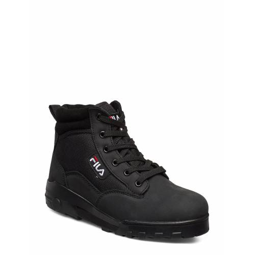 Fila Grunge Ii Mid Wmn Shoes Boots Ankle Boots Ankle Boot - Flat Schwarz FILA Schwarz 37