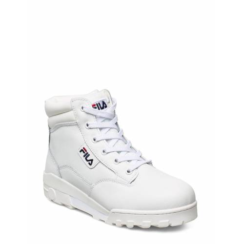 Fila Grunge Ii L Mid Wmn Shoes Boots Ankle Boots Ankle Boot - Flat Weiß FILA Weiß 39,37,40,41