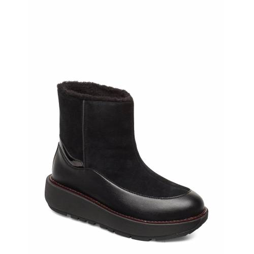 FitFlop Elin Snuggle Boot Shoes Boots Ankle Boots Ankle Boot - Flat Schwarz FITFLOP Schwarz 41,38,40