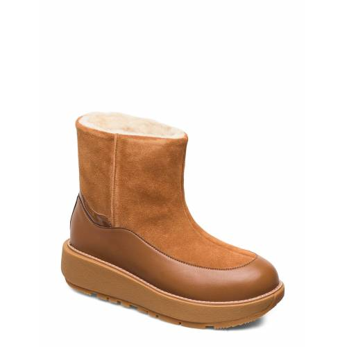 FitFlop Elin Snuggle Boot Shoes Boots Ankle Boots Ankle Boot - Flat Braun FITFLOP Braun 39,38,40,37,41