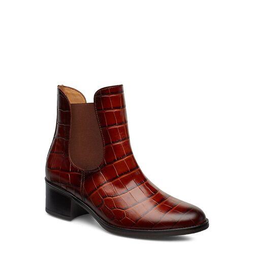 Gabor Ankle Boots Shoes Boots Ankle Boots Ankle Boot - Heel Braun GABOR Braun 39,35.5
