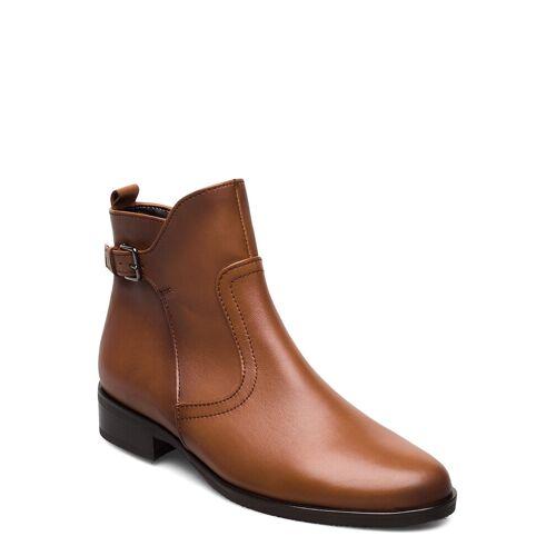 Gabor Ankle Boots Shoes Boots Ankle Boots Ankle Boot - Flat Braun GABOR Braun 38,40
