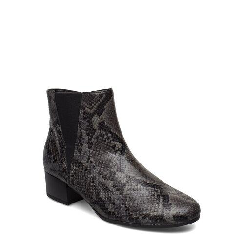 Gabor Ankle Boots Shoes Boots Ankle Boots Ankle Boot - Heel Grau GABOR Grau 39,37,38,35.5