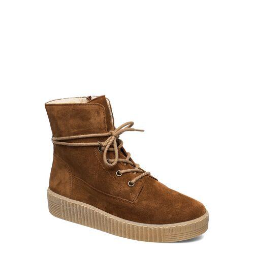 Gabor Ankle Boots Shoes Boots Ankle Boots Ankle Boot - Flat Braun GABOR Braun 39,38,37,37.5,36