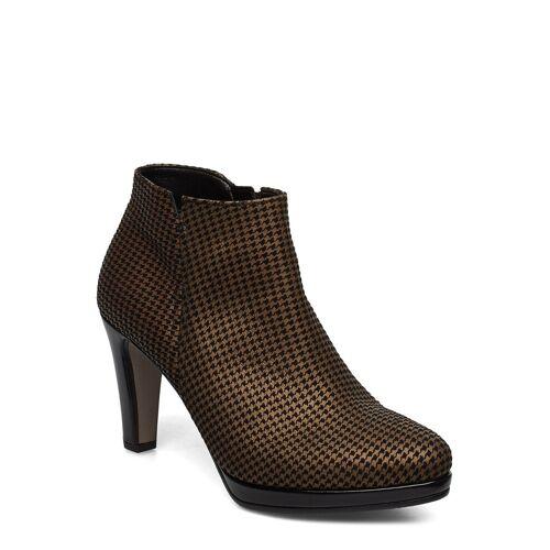 Gabor Ankle Boots Shoes Boots Ankle Boots Ankle Boot - Heel Braun GABOR Braun 38,40
