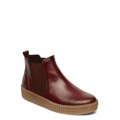 Gabor Ankle Boot Shoes Boots Ankle Boots Ankle Boot - Flat Braun GABOR Braun 40,37,37.5,41,42