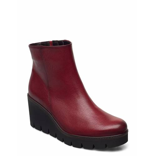 Gabor Ankle Boot Shoes Boots Ankle Boots Ankle Boot - Heel Rot GABOR Rot 40,39,41,37,37.5,36,42,38,38.5,40.5,35.5