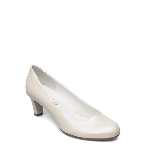 Gabor Pumps Shoes Heels Pumps Classic Weiß GABOR Weiß 42,37,40.5,39,38,40,38.5,37.5,41,36,35.5
