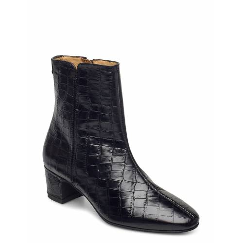 Gant Ellar Mid Zip Boot Shoes Boots Ankle Boots Ankle Boot - Heel Schwarz GANT Schwarz 38,39,37,36
