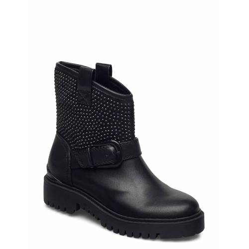 Guess Orica/Stivaletto /Leat Shoes Boots Ankle Boots Ankle Boot - Flat Schwarz GUESS Schwarz 40,39,38,37,41