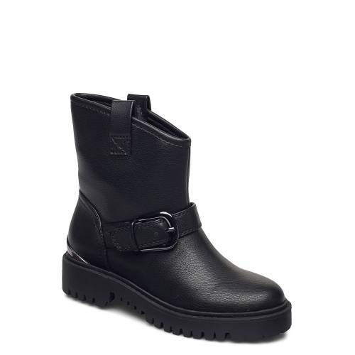 Guess Orican/Stivaletto /Lea Shoes Boots Ankle Boots Ankle Boot - Flat Schwarz GUESS Schwarz 39,38,40,36,37,41