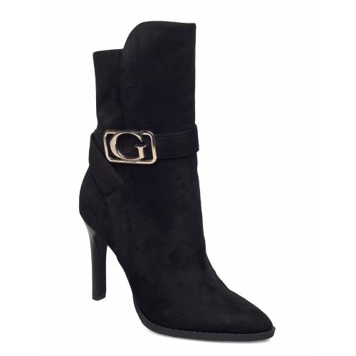 Guess Teca/Stivaletto /Suede Shoes Boots Ankle Boots Ankle Boot - Heel Schwarz GUESS Schwarz 39,40,41