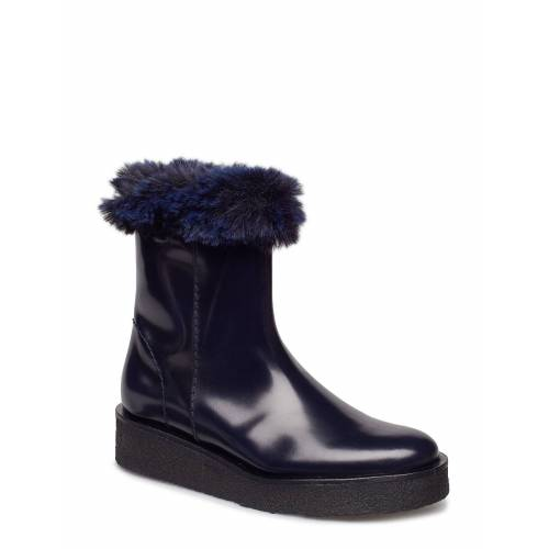 HOPE Sky Boot Shoes Boots Ankle Boots Ankle Boot - Flat Blau HOPE Blau 36