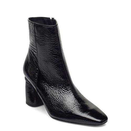 JENNIE-ELLEN Lucky Shoes Boots Ankle Boots Ankle Boot - Heel Schwarz JENNIE-ELLEN Schwarz 38,39,40,37,36,41