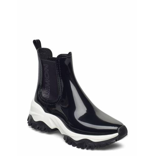 Lemon Jelly Jayden 10 Shoes Boots Ankle Boots Ankle Boot - Flat Schwarz LEMON JELLY Schwarz 39,37,40,38,36,41