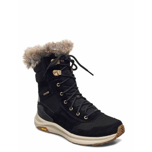 Merrell Ontario Tall Plr Wp Black Shoes Boots Ankle Boots Ankle Boot - Flat Schwarz MERRELL Schwarz 40,39,41,38,42