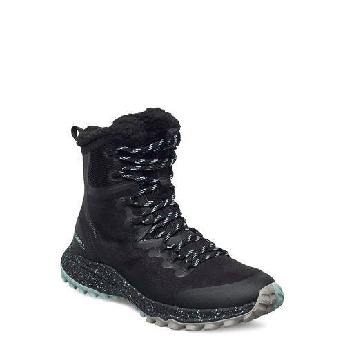 Merrell Bravada Polar Wp/Black Shoes Boots Ankle Boots Ankle Boot - Flat Schwarz MERRELL Schwarz 41,36