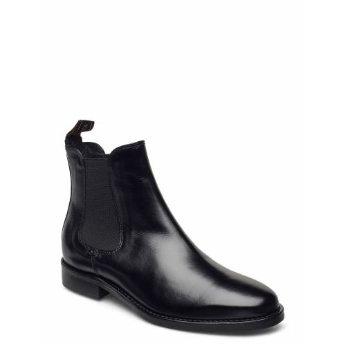 NOVITA Treviso Shoes Boots Ankle Boots Ankle Boot - Flat Schwarz NOVITA Schwarz 40