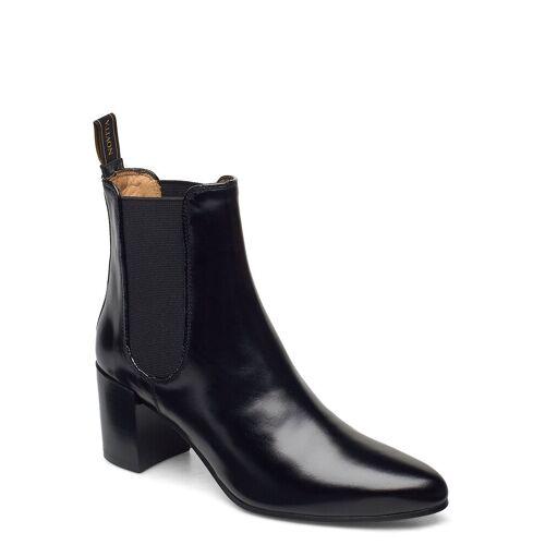 NOVITA Rom Shoes Boots Ankle Boots Ankle Boot - Heel Schwarz NOVITA Schwarz 39,40,41
