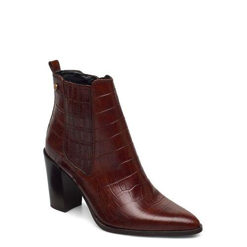 NOVITA Tropea Shoes Boots Ankle Boots Ankle Boot - Heel Braun NOVITA Braun 38,39,40,41