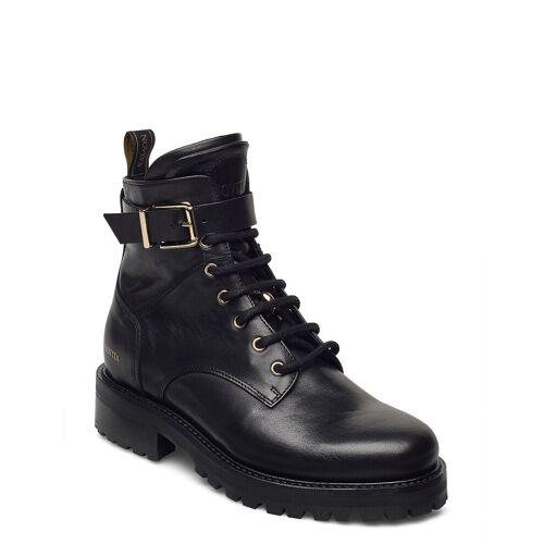 NOVITA Pavia Shoes Boots Ankle Boots Ankle Boot - Flat Schwarz NOVITA Schwarz 39,36
