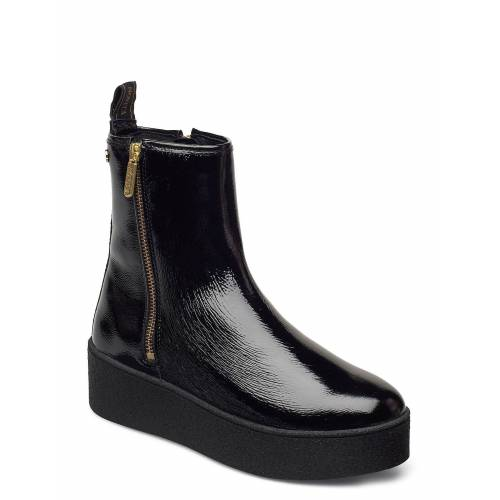 NOVITA Collina Shoes Boots Ankle Boots Ankle Boot - Flat Schwarz NOVITA Schwarz 39,37,40,41