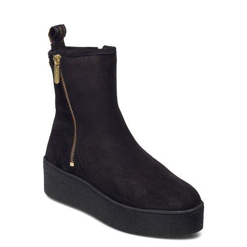 NOVITA Collina Shoes Boots Ankle Boots Ankle Boot - Flat Schwarz NOVITA Schwarz 39,38,37