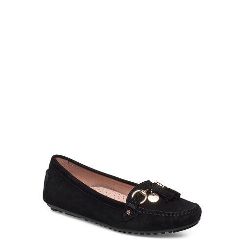 NOVITA Parma Tassle Loafers Flache Schuhe Schwarz NOVITA Schwarz 39,36,37