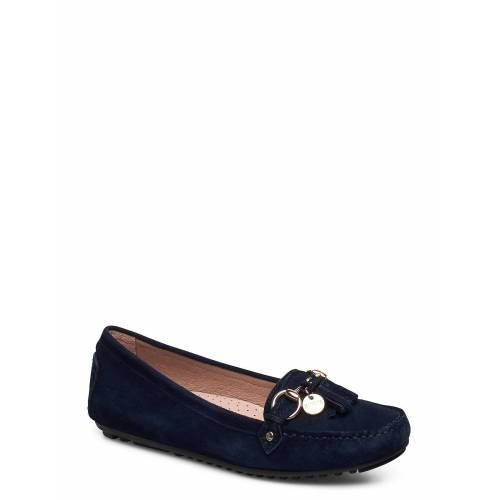 NOVITA Parma Tassle Loafers Flache Schuhe Blau NOVITA Blau 39,37,36