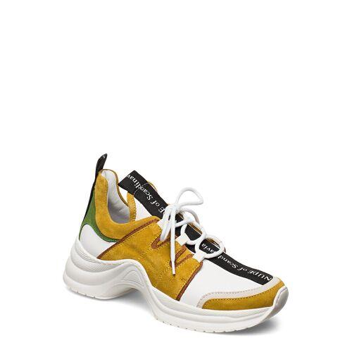 NUDE OF SCANDINAVIA Joy Niedrige Sneaker Gelb NUDE OF SCANDINAVIA Gelb 37,38