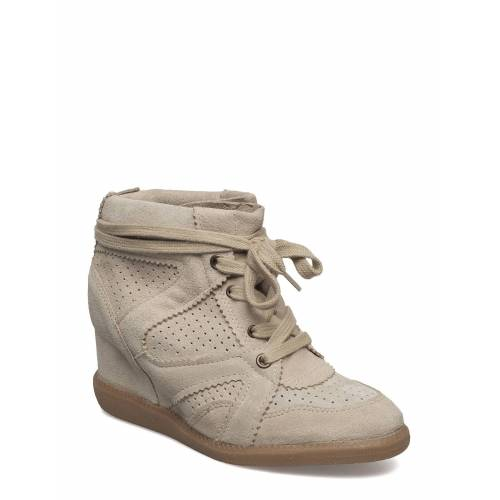 PAVEMENT Vibe Shoes Boots Ankle Boots Ankle Boot - Heel Beige PAVEMENT Beige