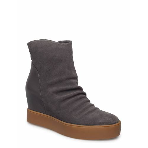 SHOE THE BEAR Trish S Shoes Boots Ankle Boots Ankle Boot - Heel Grau SHOE THE BEAR Grau 38,39,37,40,36,41