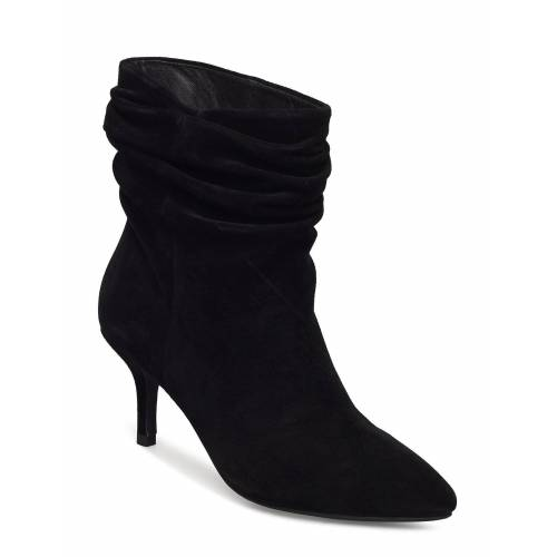 SHOE THE BEAR Agnete Slouchy Shoes Boots Ankle Boots Ankle Boot - Heel Schwarz SHOE THE BEAR Schwarz 40