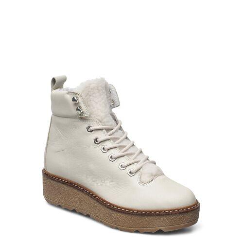 SHOE THE BEAR Bex L Shoes Boots Ankle Boots Ankle Boot - Flat Weiß SHOE THE BEAR Weiß 39,38,40,41