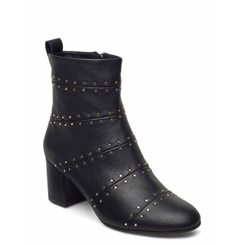 SHOE THE BEAR Stb-Bess Panel L Shoes Boots Ankle Boots Ankle Boot - Heel Schwarz SHOE THE BEAR Schwarz 39,40,38,37,36,41